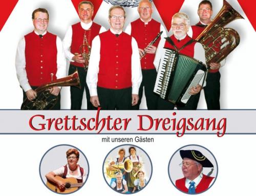 Jubiläumskonzert Dreigsang