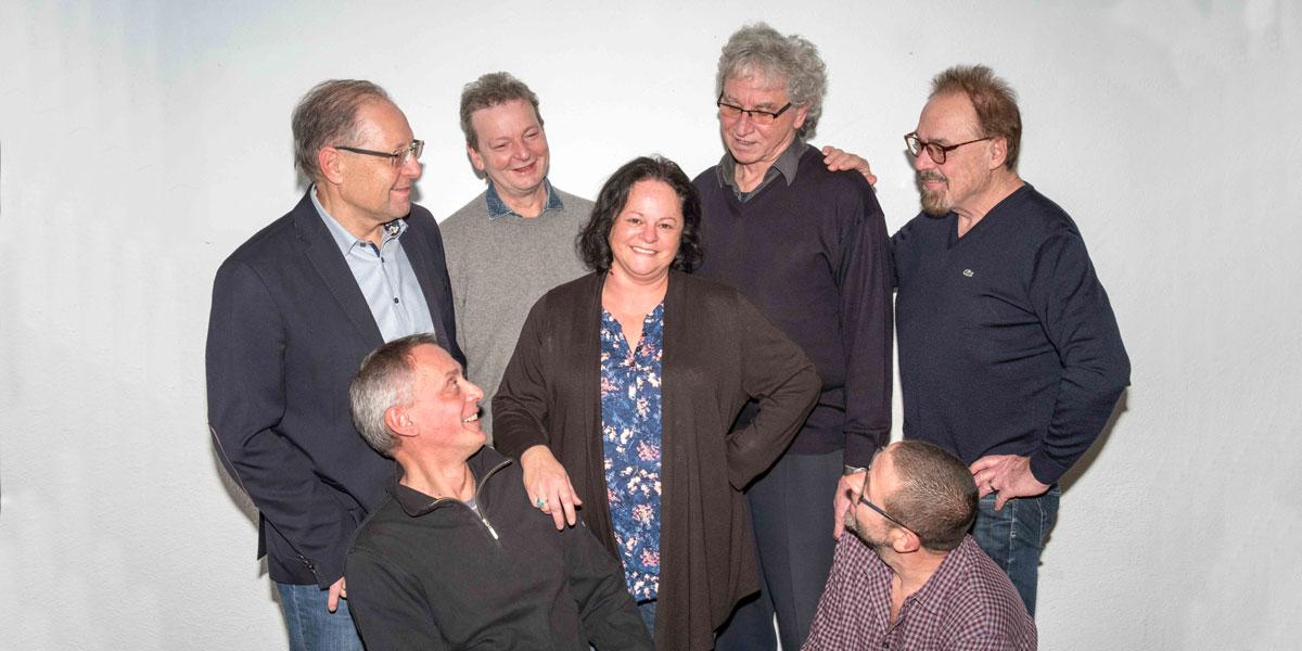 Der Trendchor ConTakte aus Grettstadt mit seiner Chorleiterin Silvia Albert